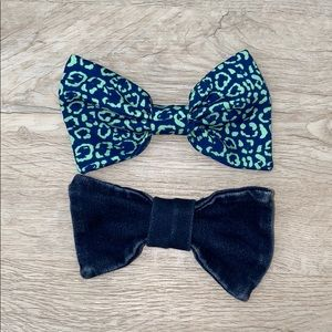 Set of American Apparel Hair Bows